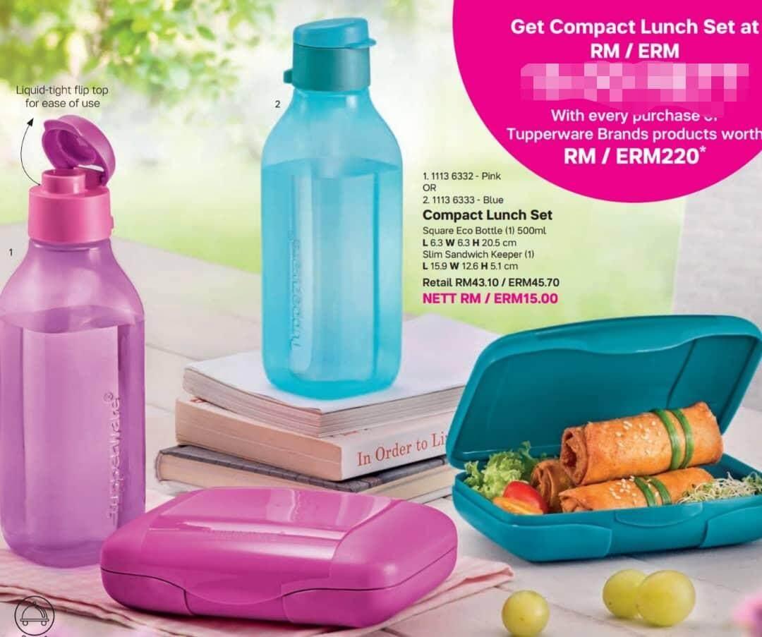 Features Tupperware Executive Lunch Set Dan Harga Terbaru - Info ...