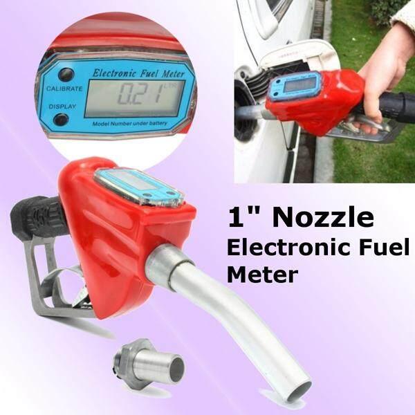 1 Fuel Gasoline Diesel Petrol Delivery Flow Meter Nozzle Refill Dispenser By Audew.