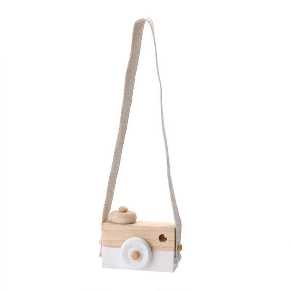 Vishine Mall free shipping Wooden Camera Cam Cameras Toy Children's Travel Home Decor Gifts For Kids