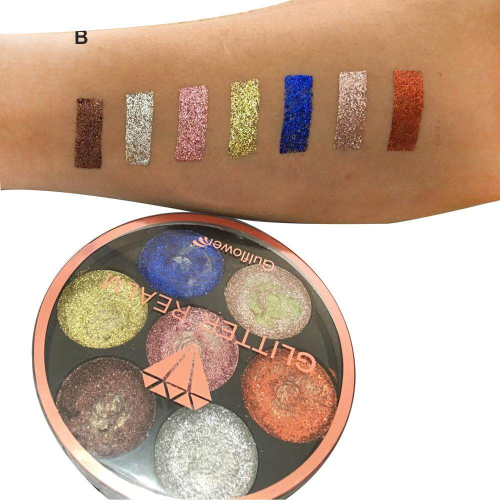 Lion Shimmer Glitter Eye Shadow Powder Palette Matte Eyeshadow Cosmetic Makeup Philippines