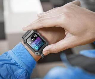 Ốp Đồng Hồ SUPCASE 44Mm Cho Apple Watch 4 Watch 5 6, Vỏ Bảo Vệ Chắc Chắn Kèm Dây Đeo - INTL thumbnail