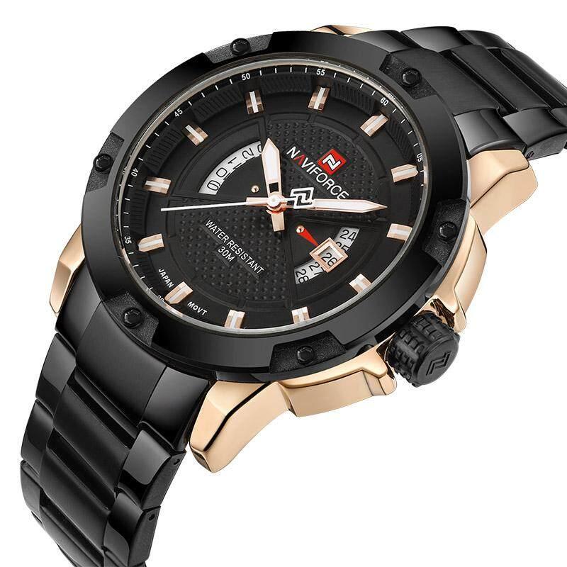 a979290615a3 NAVIFORCE NF9080G Top Luxury Brand Men Sports Watch Male Casual Full steel  Date Wristwatches Men s Quartz