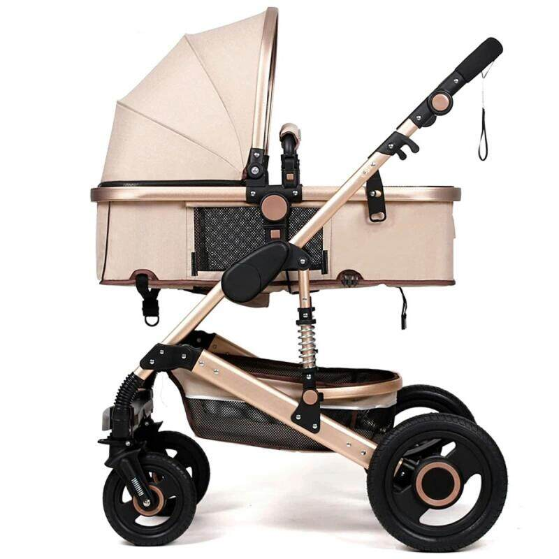 Foldable Newborn Baby Stroller Buggy Pram Pushchair Carriage Infant Travel Car Singapore