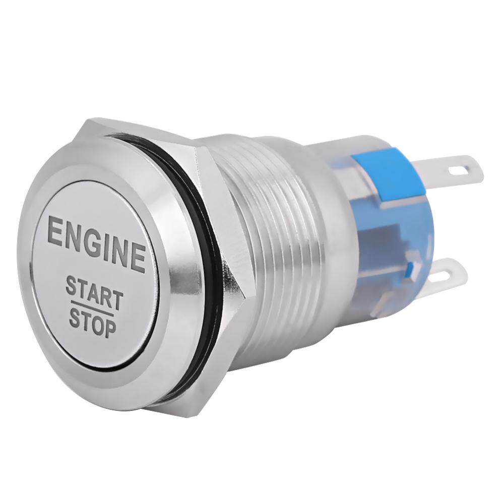 Car Switches For Sale Auto Online Brands Prices 1997 Nissan Pathfinder Ignition Switch Wiring 1991 Engine Button 12v Waterproof Start Push Starter Silver Stainless Steel