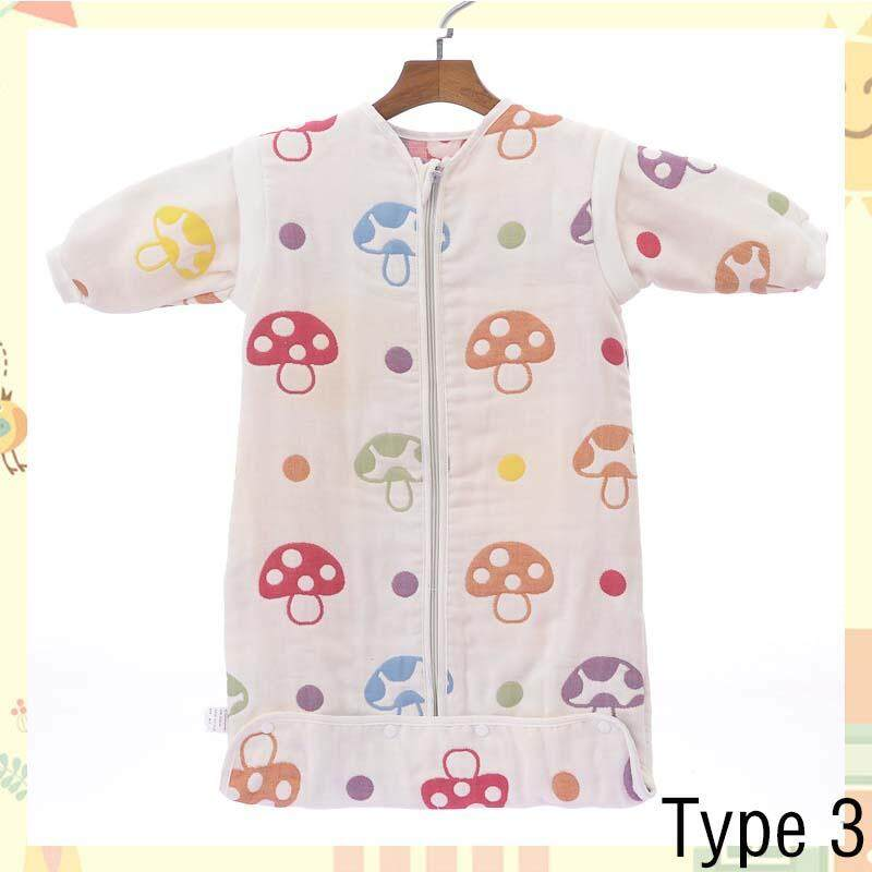 Removable Sleeve Baby Clothing Spring Autumn Cotton Solid Sleepsack Long Sleeve Baby Sleeping Bags - Type 3 - Intl By Aprillan International Store.