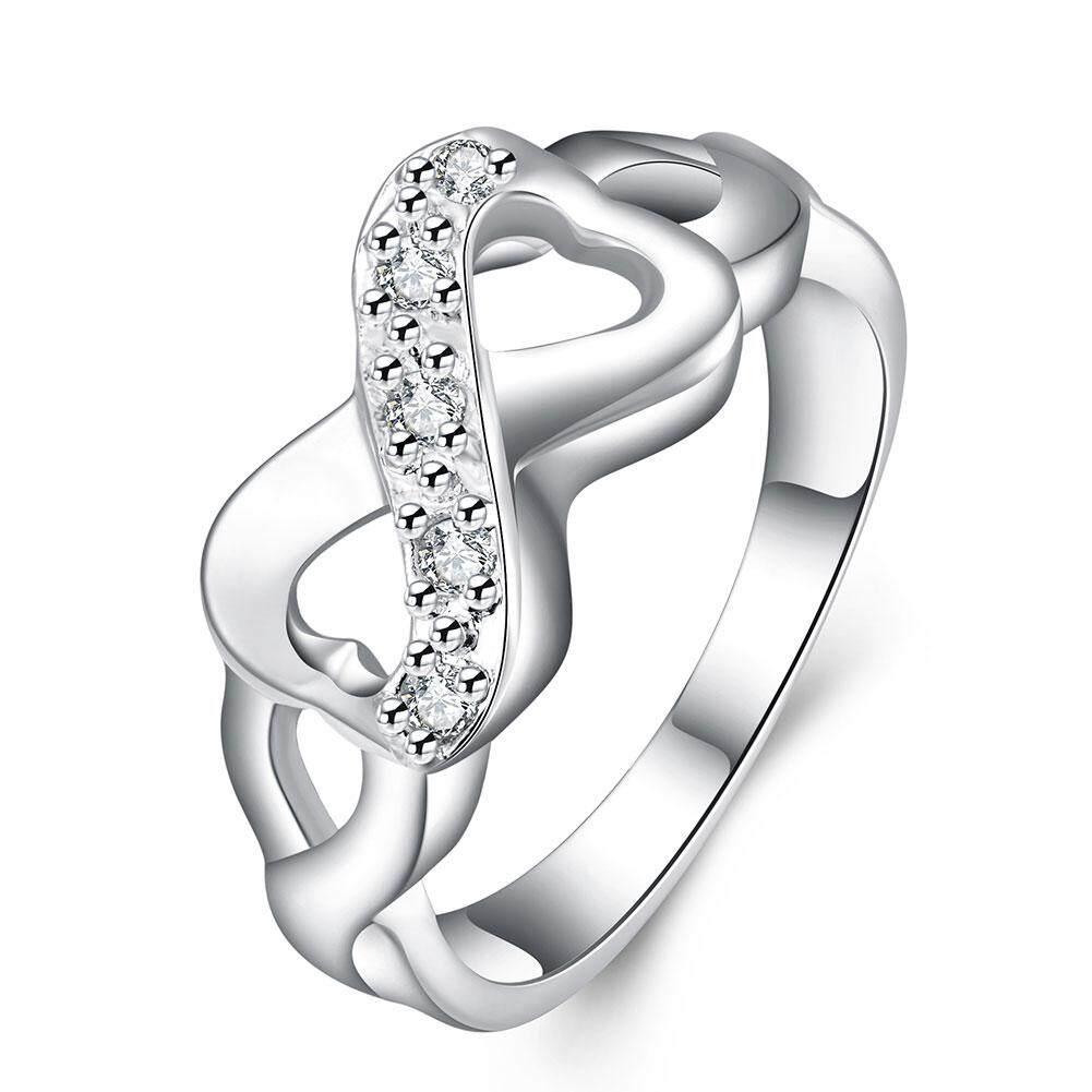 Buy Sell Cheapest Karakter Pita Perempuan Best Quality Product Cincin Black Batu Sisip 8 Perak Hadiah Ulang Tahun Pasangan R049