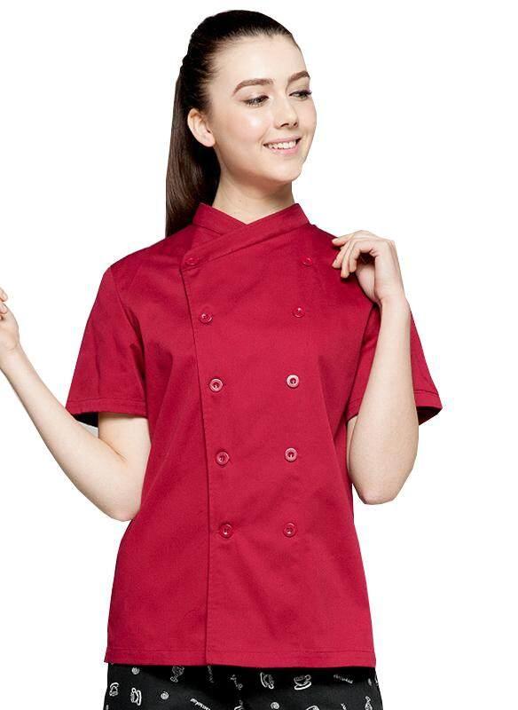 【Hot】men dan Wanita Pakaian Kerja, Lengan Panjang, Lengan Pendek Hotel, Restoran Barat, lap Dapur Mesh Bernapas Pakaian Koki