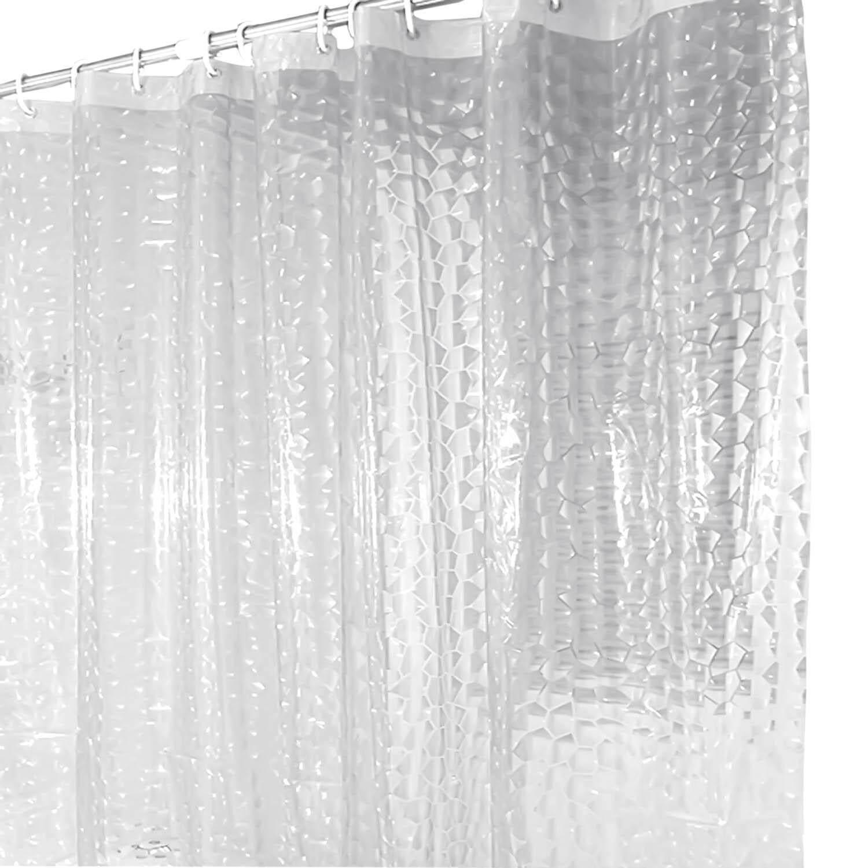3d Air Cetakan Efek Tirai Kamar Mandi Tirai Mandi Peva Dengan Kait Plastik By Elek.