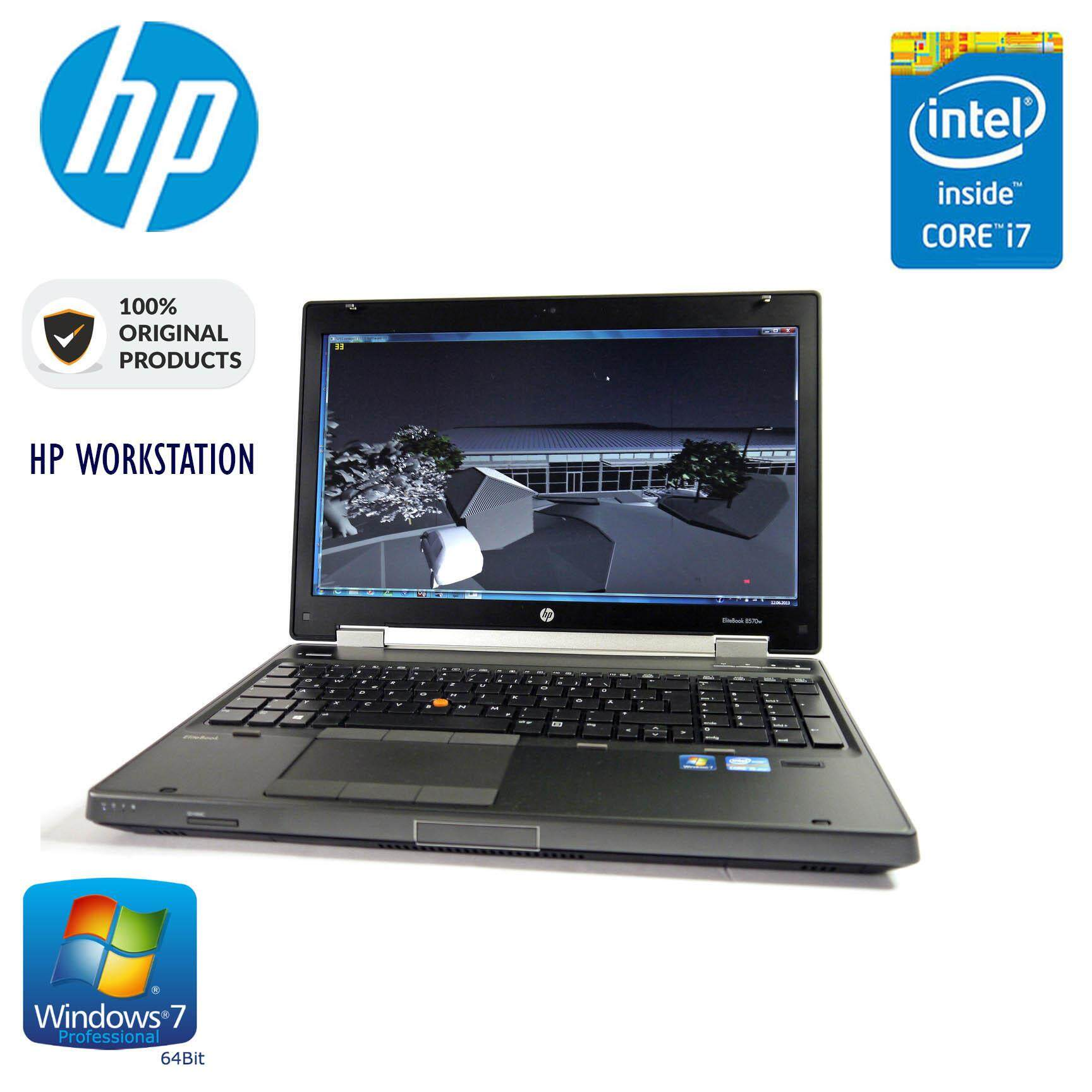 HP WORKSTATION 8770W - 17 INCH (CORE I7 QUAD CORE / 6GB RAM / 1TB HDD) W7 PRO Malaysia