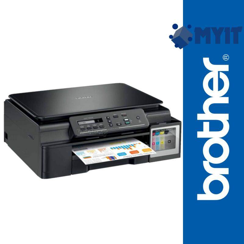 Brother DCP-T510W AIO Wireless Borderless A4 Photo Printing Inkjet Printer with Refill Tank System Mobile Wifi Print Support 3 in 1 (Print / Scan / Copy, 3 Years Warranty)