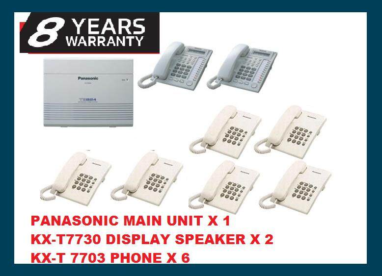 LATEST 2019 PANASONIC KX-TES824 KEYPHONE SYSTEM ( 8 YEARS WARRANTY )