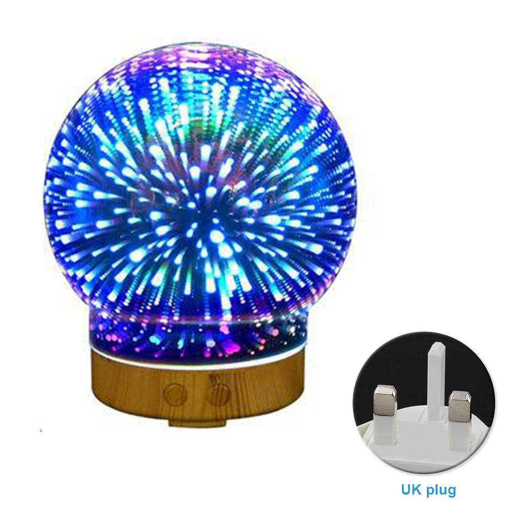 3D Essential Oil Aroma Diffuser Ultrasonic Humidifier Aromatherapy Night Light Singapore