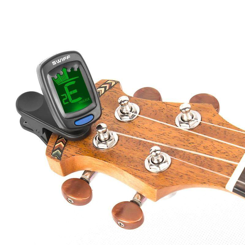 GoodGreat Clip-on Tuner, Tuner For Guitar, Ukulele, Violin, Large LCD Display Malaysia