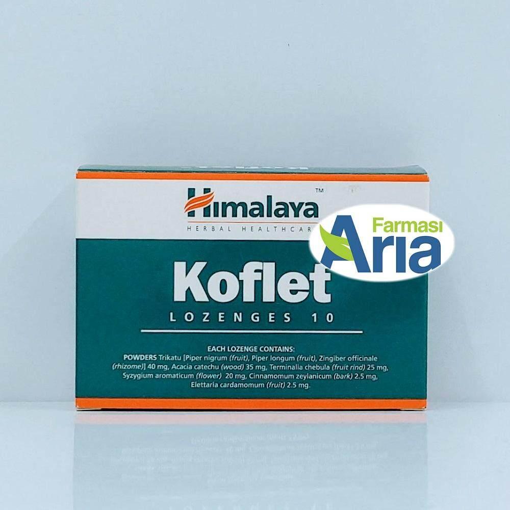 Himalaya Koflet Cough Lozenges 10\'s (Exp12/19)