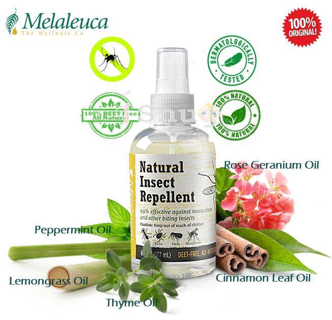 Melaleuca Natural Insect Repellent (with spray head) - 177ml