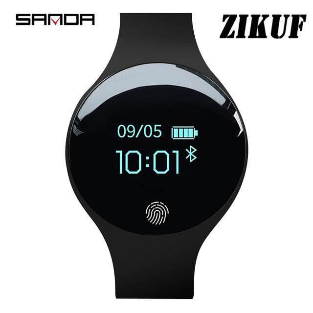 Sanda SD01-1 SD02 Olahraga Smartwatch Remaja Siswa Pemantau Tidur Anti Air Pedometer Lama Waktu Siaga Pembakaran Kalori Tampilan Jam Jam Tangan Fitness untuk IOS /Android