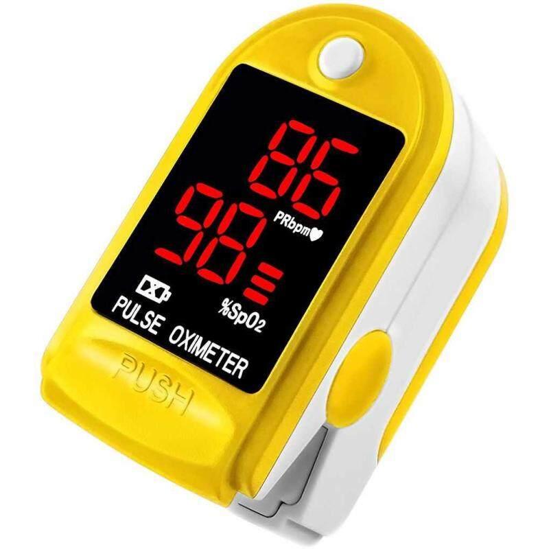 C101J0 Digital SpO2 Fingertip Pulse Oximeter Oxygen Finger Monitor Blood Oxygen Sensor Saturation Level Meter bán chạy
