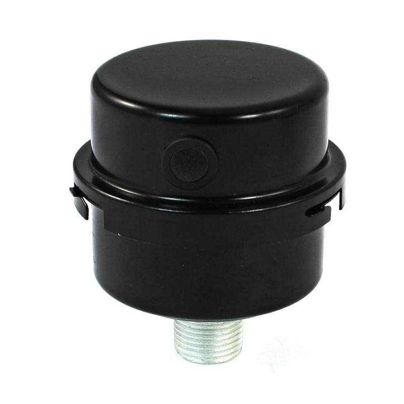 Air Compressor 1/2pt Thread Connector Muffler Filter Silencer By Happyang.