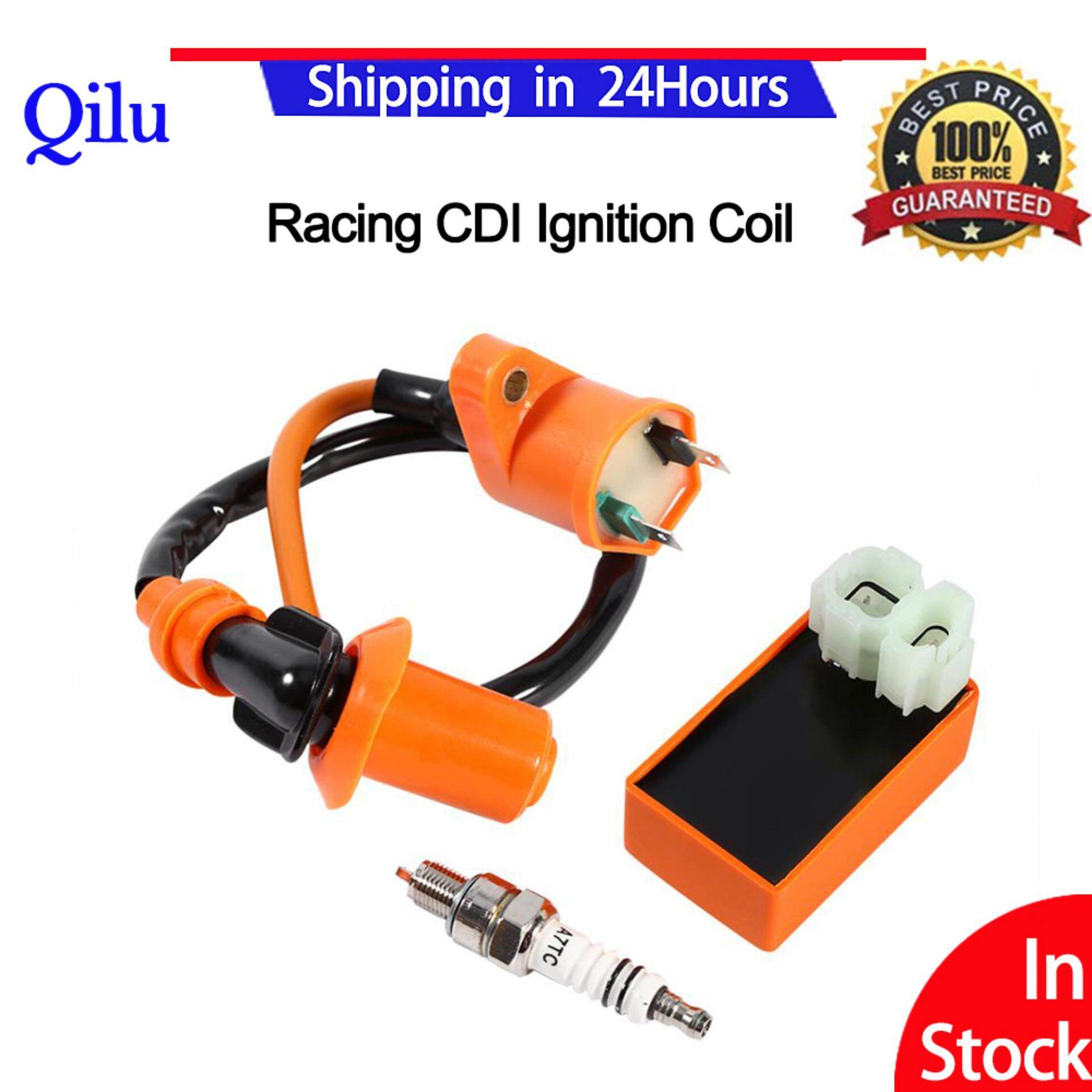 New Racing Performance Cdi Ignition Coil Spark Plug For Gy6 50cc 125cc 150cc Atv Scooter Wiring