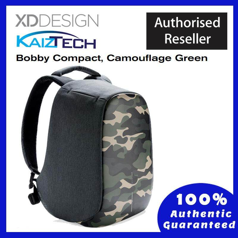 Original XD DESIGN Bobby Compact Print - Anti-theft Backpack