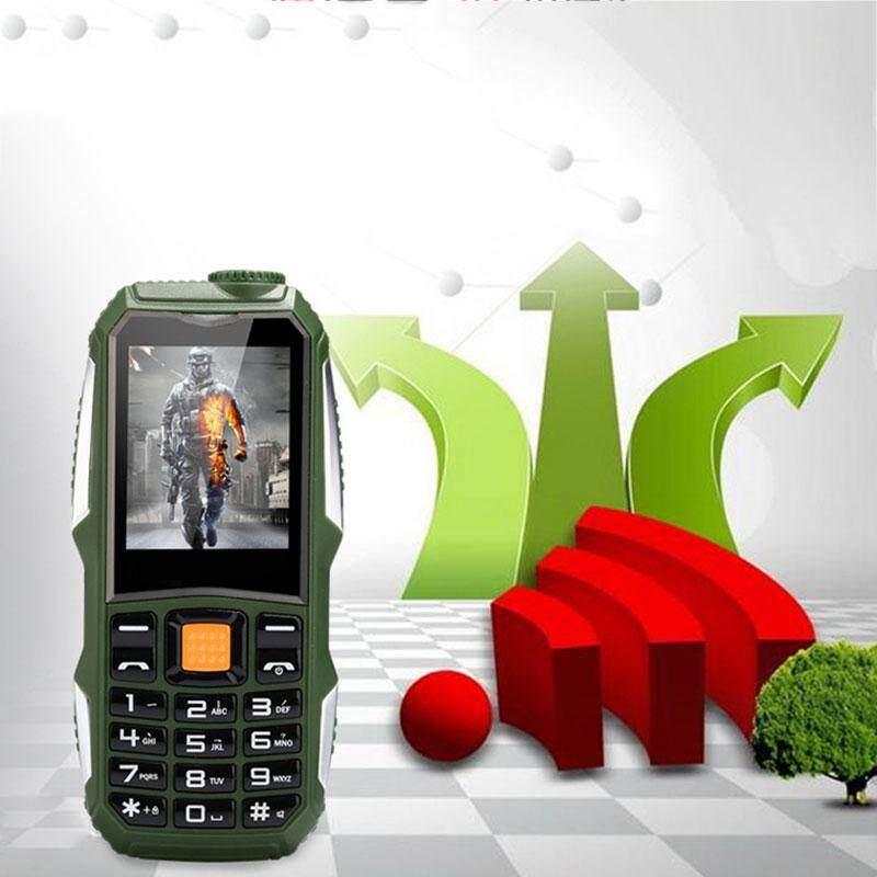 1 8Inch Ultralong Standby Time Elder Mobile Phone Cellphone Camera Music  Player FM Radio Waterproof Anti Drop Dustproof