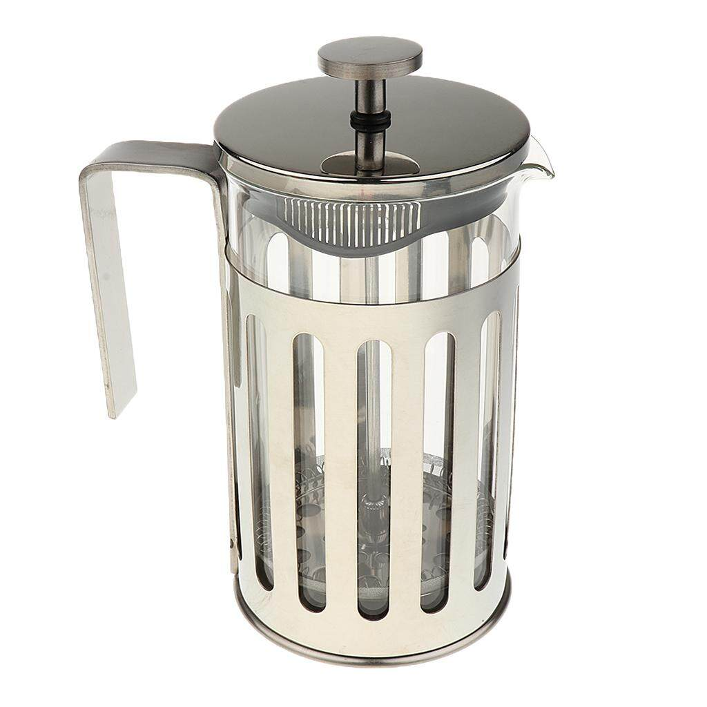 Bolehdeals Stainless Steel Glass Cafetiere French Filter Coffee Press Plunger 600ml By Bolehdeals.