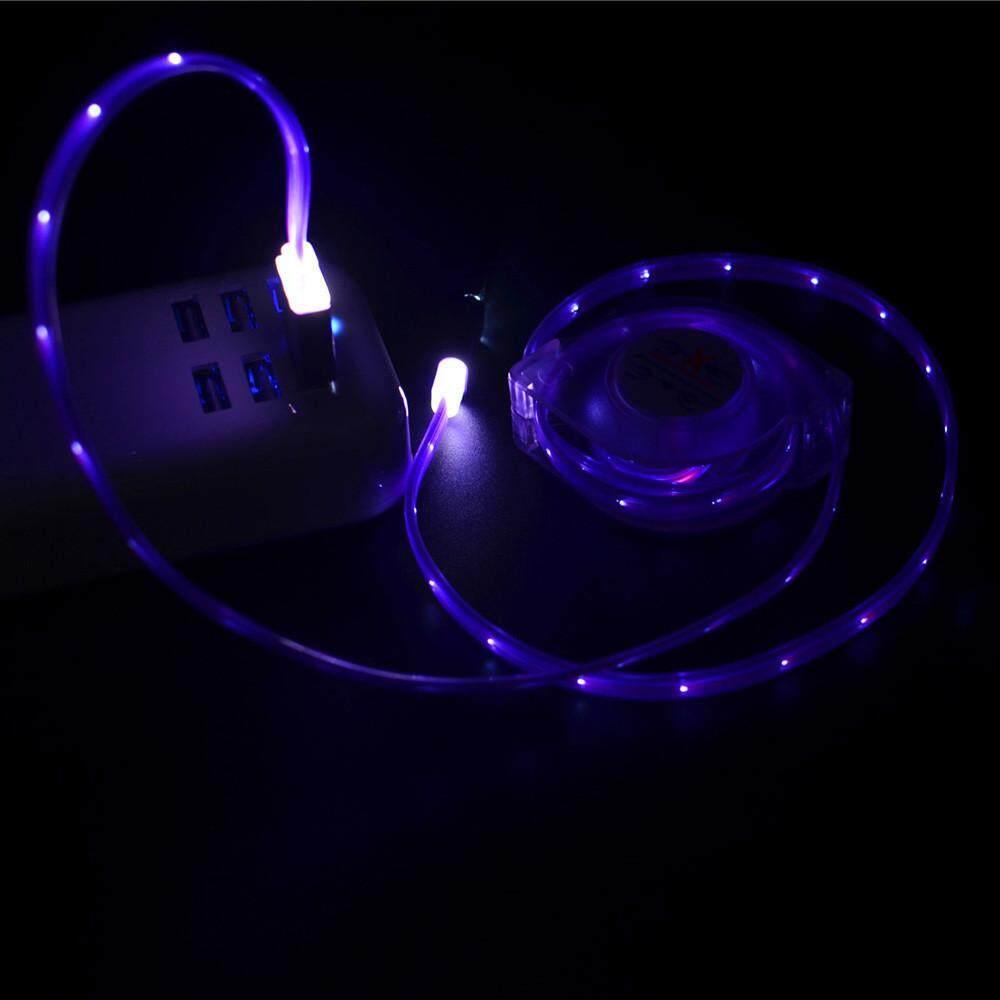 Mode 1 M LED USB Tipe-C Charger Tanggal Kabel Pengisi Kabel untuk Samsung Galaxy Note 8