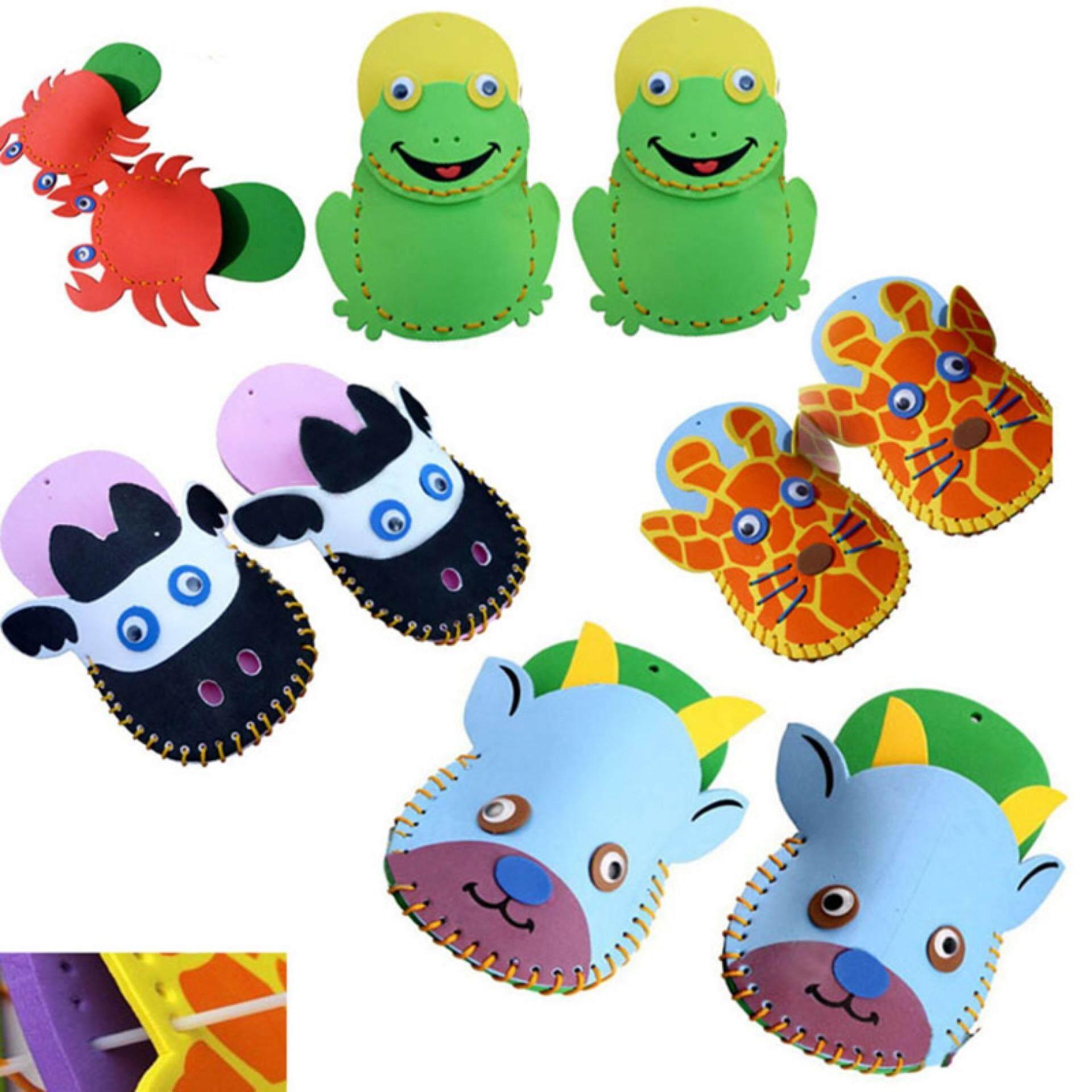 Buy Sell Cheapest Diy Handmade 1 Best Quality Product Deals Busa Eva 50cm Pair Sandal Anak Kartun Hewan Buatan Tangan
