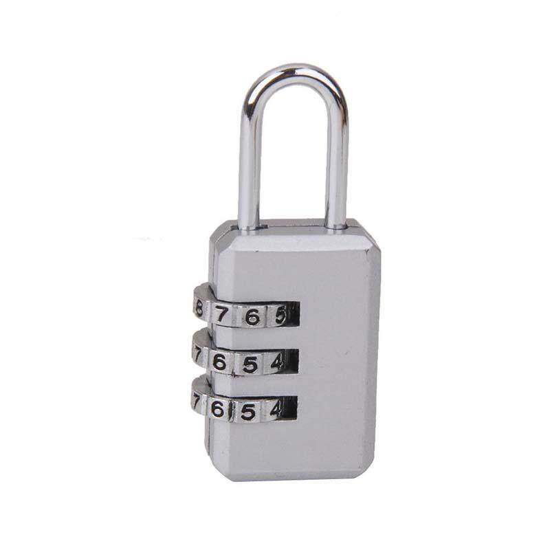 3 Kombinasi Lemari Keamanan Gembok Bagasi Perak Kode-Intl - 2 ...