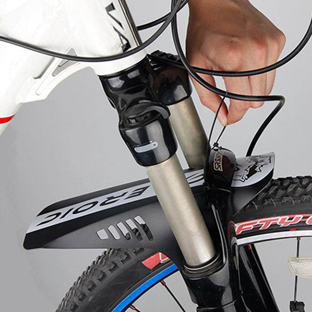 QF Portable Folding Road MTB Bike Bicycle Rear Guard Mudguard Fender Outdoor Riding Accessories