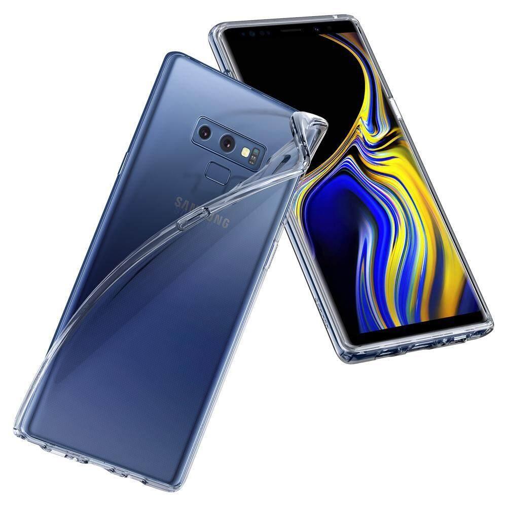 Features Original Spigen Liquid Crystal Protective Case For Samsung Galaxy Note 9 Ultra Hybrid Clear Casing Detail Gambar Terbaru
