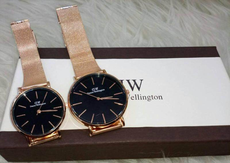 NEW CASUAL DW COUPLE WATCH SET Malaysia