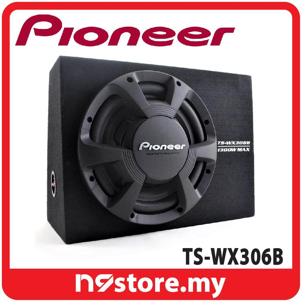 "Pioneer TS-WX306B 12"" Subwoofer with Sealed Box Enclosure 350W RMS at 4 ohm"