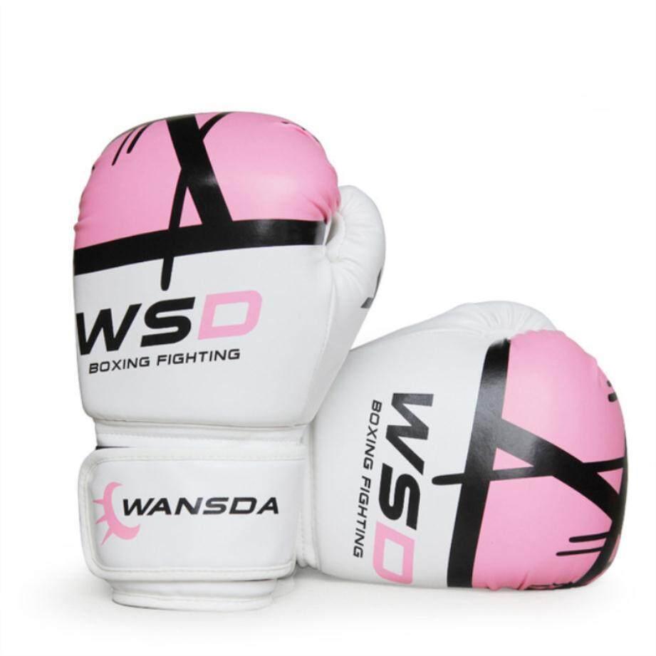 Khusus Pertarungan MMA Sarung Tangan Tinju/Sarung Tangan Tebal Latihan Sanda/Lusin Sandbags Glove Tendangan Tinju Muay Thai Karate