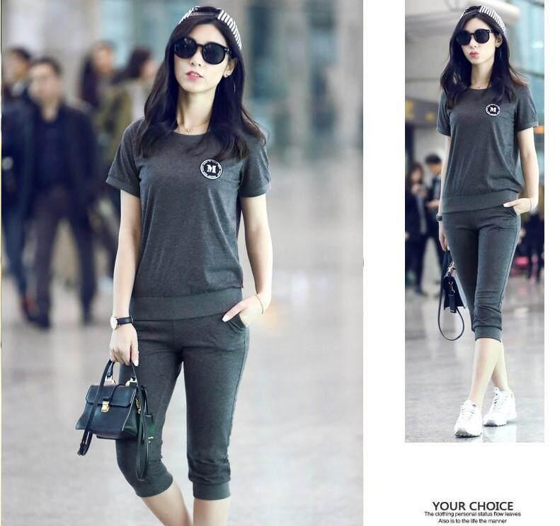 Korean Style Women Casual Sport Set Collection 357 7957