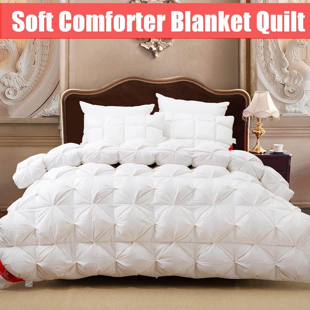 100%goose Down Blanket Comforter Duvet Bedding Throw Shape Quilt Soft Filler Ups 200x230cm - Intl By Audew.