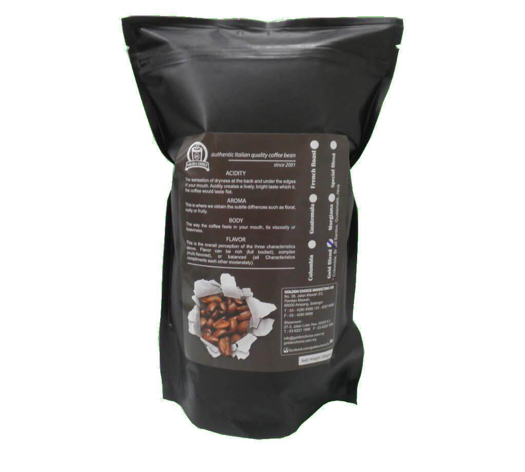 COFFEE BEAN GOLD BLEND 250G 竑冠黃金咖啡豆