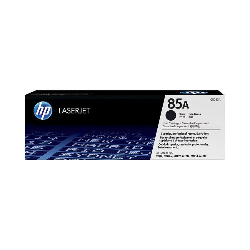 HP 85A Black Original LaserJet Toner Cartridge CE285A