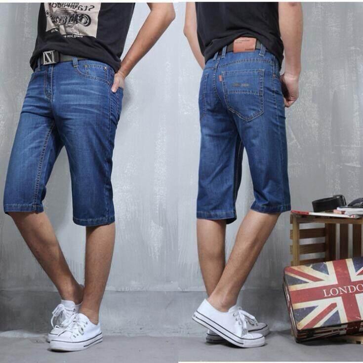 6397c2b012c08 2018 Men Shorts Brand Summer New Men Jeans Shorts Plus Size 38 Fashion  Designers Shorts Cotton