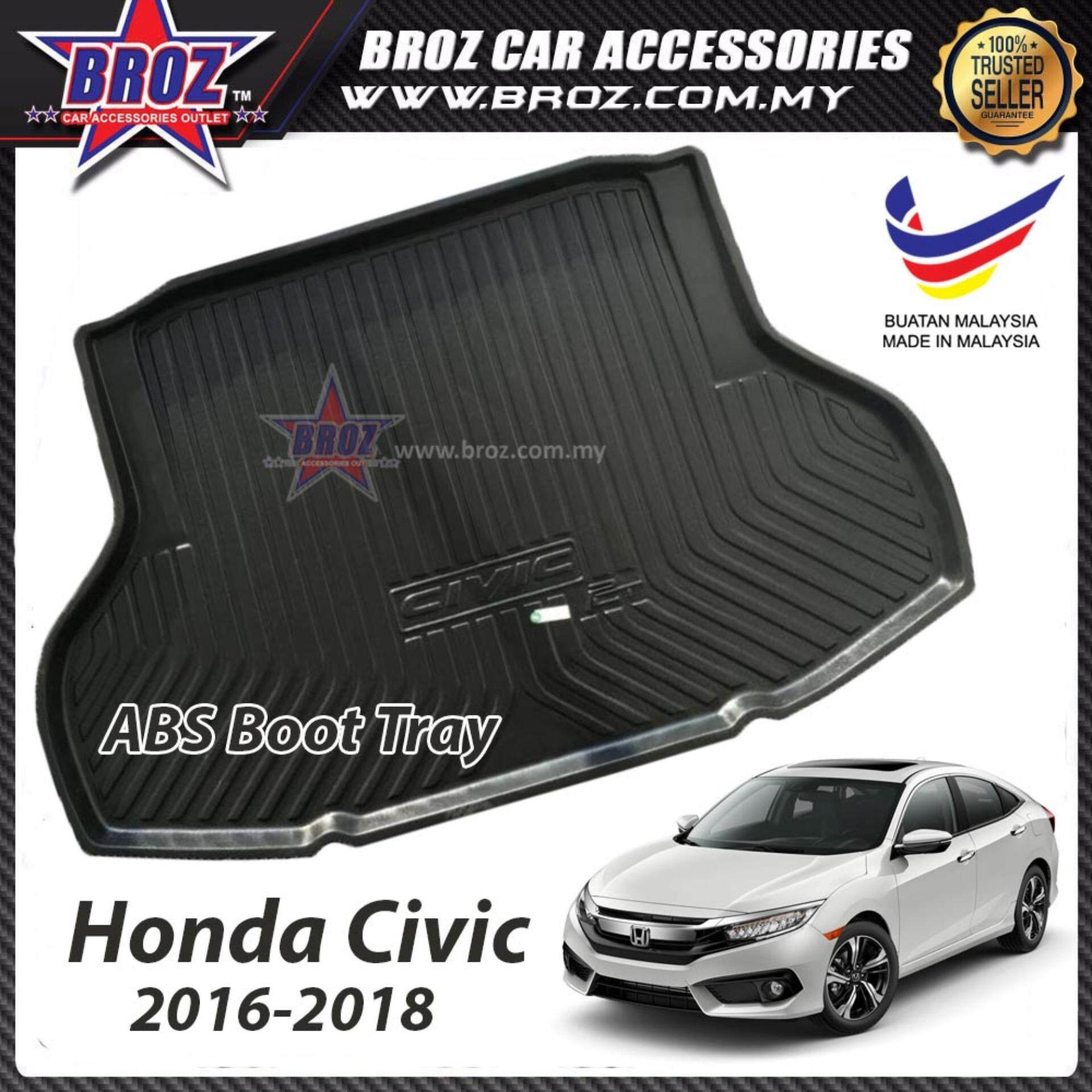 Honda Civic 2016-2018 ABS Car Rear Boot Trunk Tray
