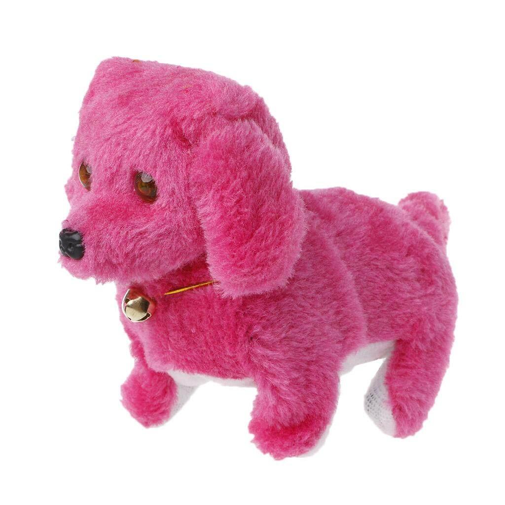 แฟชั่นเดิน Barking ของเล่นคุณภาพสูงตลกไฟฟ้าไหมขัดฟันสุนัข - Intl.