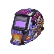Auto Gelap Helm Las Las Penggiling Masker Perlindungan Sinar UV 23 Gaya 1501A Spiderman 3