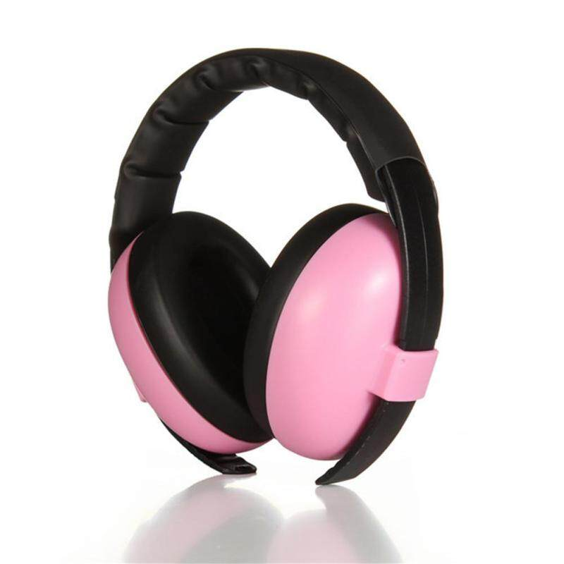Electronic Infant Baby Kids Earmuffs Shooting Protector Soundproof Headphone For 3+months