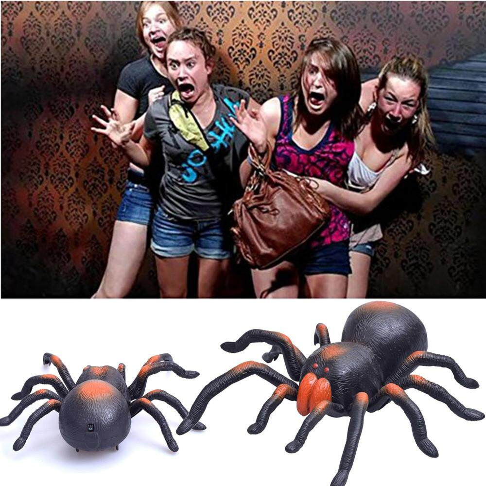 High Simulation Animal Tarantula Spider Infrared Remote Control Kids Toy Gift By Matatatshop.