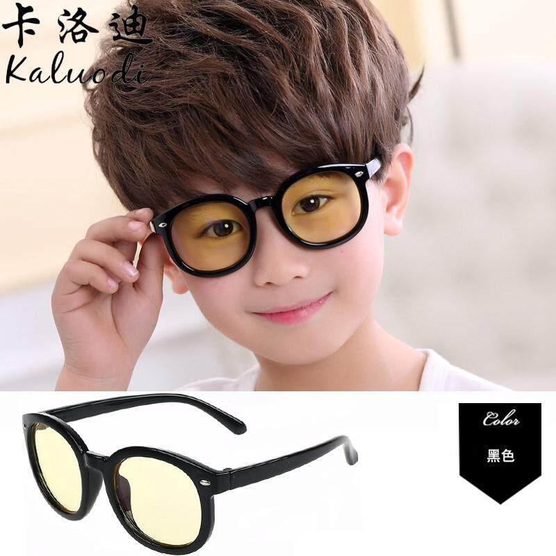 Soft Material Anak-Anak Anti Radiasi Kacamata Cermin Komputer Pria Dan Wanita Anak Anak Kacamata Pelindung Anti Blu-Ray Kaca Polos By Koleksi Taobao.