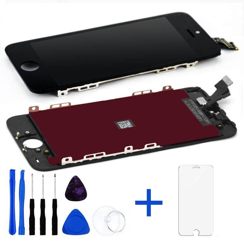 Untuk Apple iPhone 5 5G Layar LCD + Sentuh Layar Digitalisasi Perakitan A1428 A1429 A1442 4.0