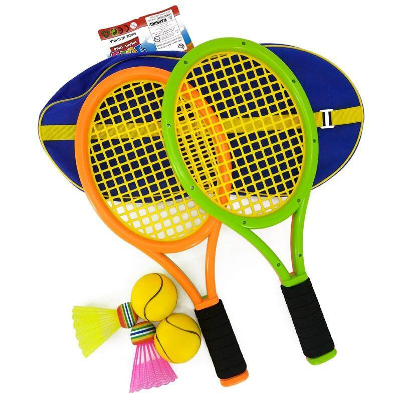 Child The Feather Racket Toy Beginner Parents And Childrens Outdoor Games Of Kid Student Tennis Baby Is 3-12 Years Old To Wrap A Mail By Zhaopangyun.