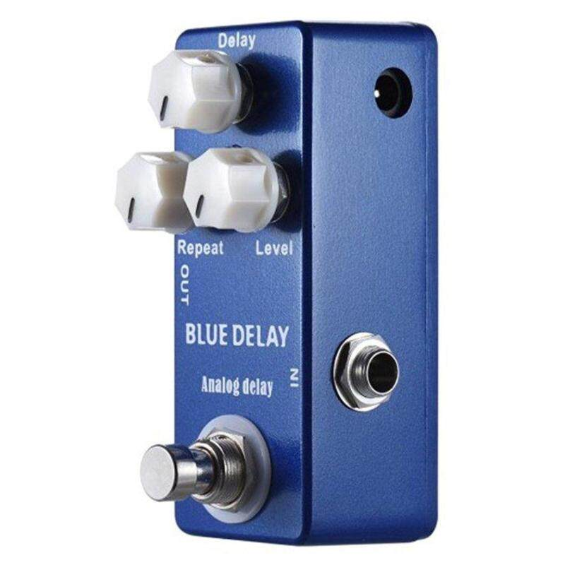 OSMAN MOSKYAUDIO Blue Delay Mini Analog Delay Guitar Effect Pedal 1/4 Monaural Jack