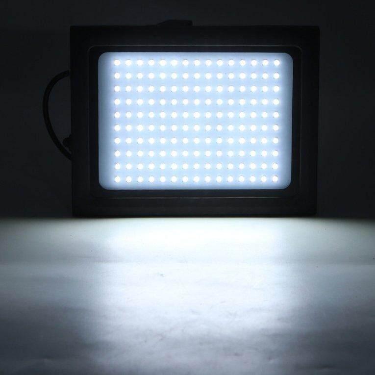 150LED Solar Powered Spotlight Radar Induction IP65 Waterproof Outdoor Lamp - intl