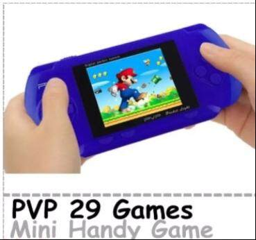 PVP 3000 Built-in 29 Games Portable 2.8'' LCD Handheld Player Game Device